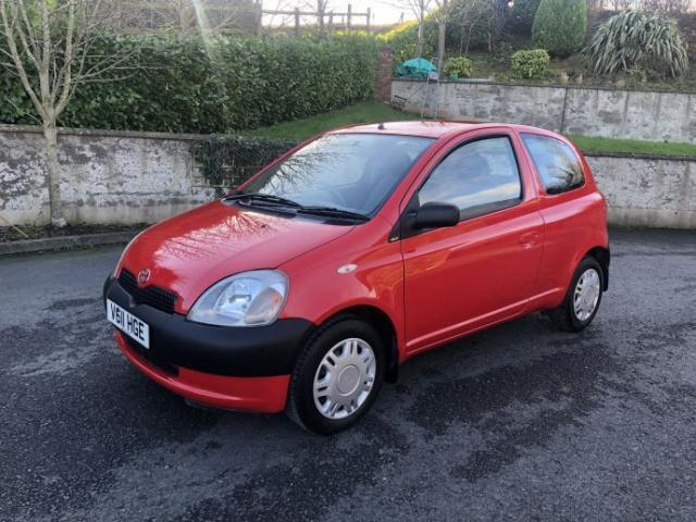 Image for 1999 Toyota Yaris 1999 (v) Toyota Yaris 1.0 16v VVTi GS Hatchback 3d only 11, 000 miles
