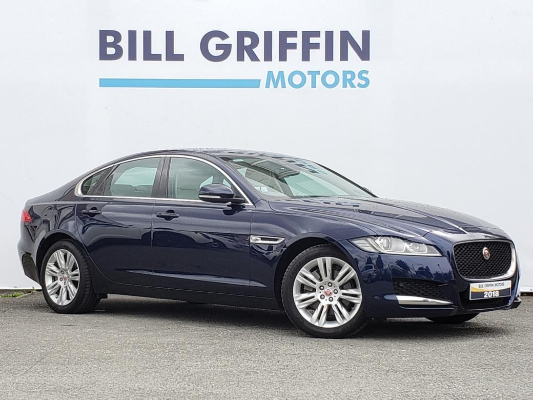 Image for 2018 Jaguar XF 2.0D PRESTIGE AUTOMATIC MODEL // ** VERY LOW MILEAGE ** // FULL LEATHER // HEATED SEATS // SAT NAV // FINANCE THIS CAR FOR ONLY €114 PER WEEK