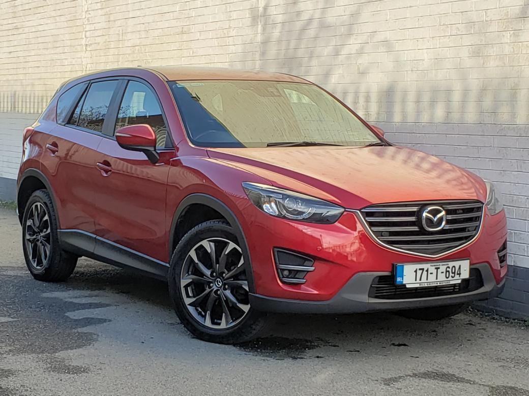 Image for 2017 Mazda CX-5 2.2D PLATINUM 150BHP MODEL // FULL LEATHER // HEATED SEATS // SAT NAV // REVERSE CAMERA // PARKING SENSORS // FINANCE THIS CAR FOR ONLY €73 PER WEEK