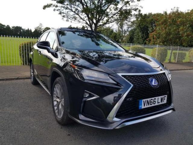 Image for 2016 Lexus RX now Sold 3.5 V6 450H F Sport Hybrid 4WD Auto