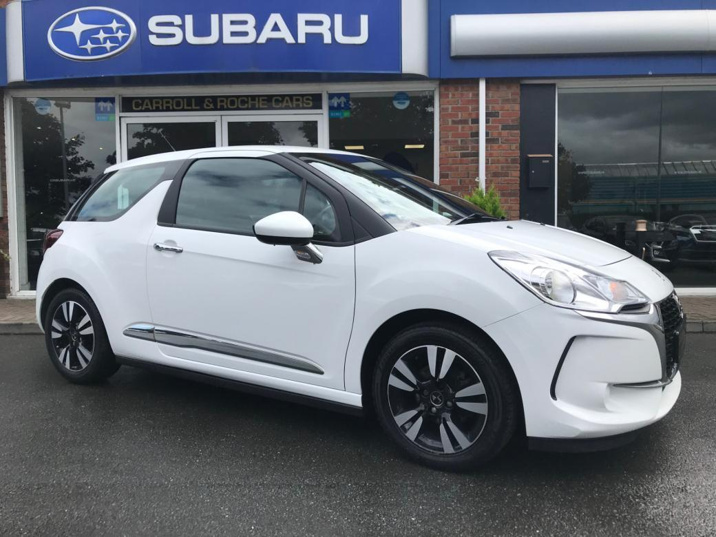 Image for 2016 DS DS 3 PURETECH CHIC - Polar-White One Owner - Super Stylish +Great Finance Deals & Top Trade-In Allowances