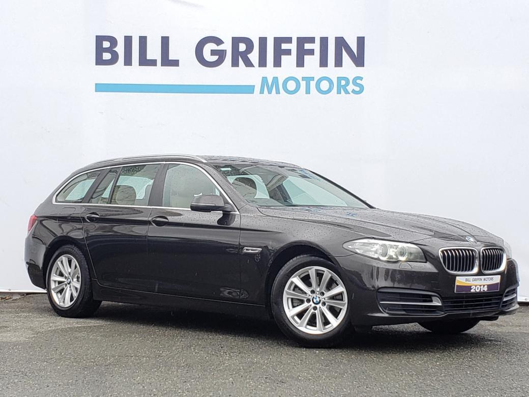 Image for 2014 BMW 5 Series 520D SE TOURING MODEL // FULL SERVICE HISTORY // SAT NAV // WIDE SCREEN // FINANCE THIS CAR FOR ONLY €52 PER WEEK
