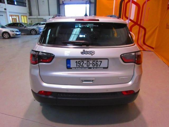 Image for 2019 Jeep Compass 1.6 Mjet 120HP Longitude-climate Control-sat Nav-alloys-reversing Camera-parking Sensors.