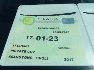 2017 Ssangyong Tivoli