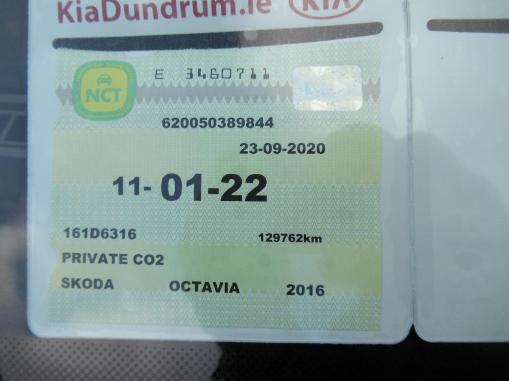 2016 Skoda Octavia