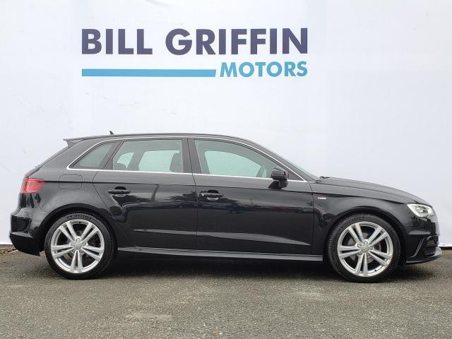 Image for 2016 Audi A3 1.6 TDI S-LINE MODEL // HALF LEATHER SPORT INTERIOR // SAT NAV // FLAT BOTTOM STEERING WHEEL // FINANCE THIS CAR FOR ONLY €61 PER WEEK