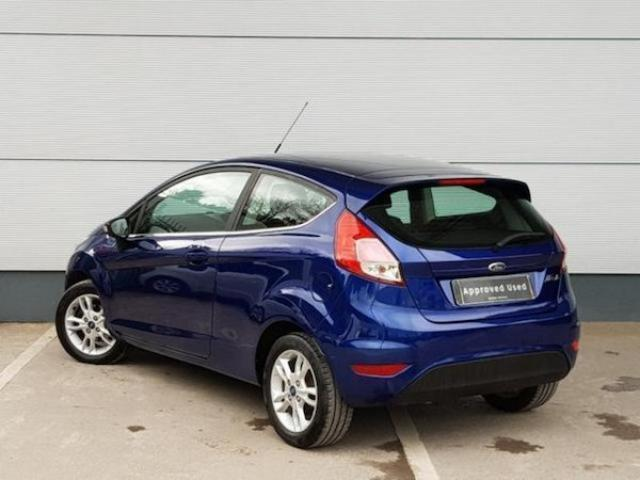 Image for 2015 Ford Fiesta Zetec 1.25 Petrol