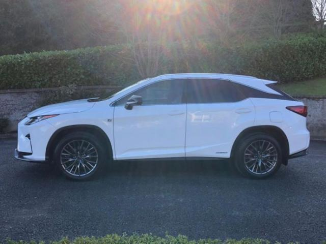 Image for 2018 Lexus RX 450H 3.5 (313ps) 4X4 F SPORT Station Wagon 5d E-CVT Fully loaded with spec still under Lexus warranty