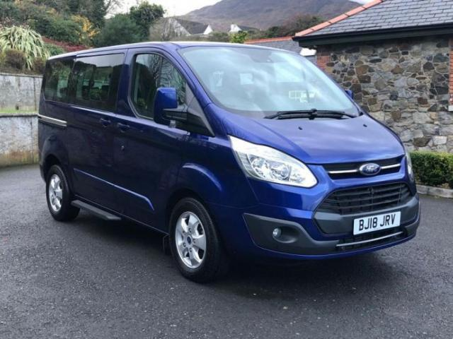 Image for 2018 Ford Tourneo Custom 2.0TDCi (130ps) 310 L1 Automatic Titanium Bus 8 seats Only 289 miles as new condition !