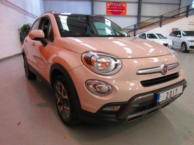 Image for 2017 Fiat 500X 1/2 Leather-sat Nav-cruise-bluetooth-climate Control-mp3-sport Mode-1.6 Dsl-cross Multijet 17 (2017)