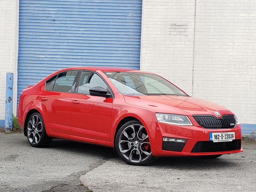 Image for 2016 Skoda Octavia 2.0 TDI VRS AUTOMATIC 184BHP MODEL // FULL SKODA SERVICE HISTORY // FULL SPORT LEATHER INTERIOR // FINANCE THIS CAR FOR ONLY €66 PER WEEK
