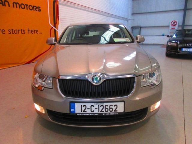 Image for 2012 Skoda Superb Aircon-alloys-front Foglights-reversing Sensors-nct 07-20-superb 1.6 TDI S Greenline II