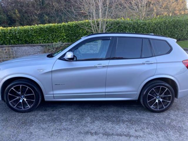 Image for 2013 BMW X3 2013 (131) Bmw X3 3.0TD (258bhp) xDrive30d M Sport Station Wagon 5d Auto Upgraded Alloys Only 54, 900 Miles