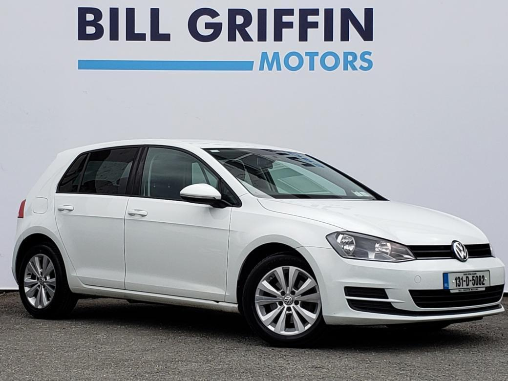 Image for 2013 Volkswagen Golf 1.6 TDI TL MODEL // ALLOY WHEELS // REAR PRIVACY GLASS // BLUETOOTH // FINANCE THIS CAR FOR ONLY €44 PER WEEK