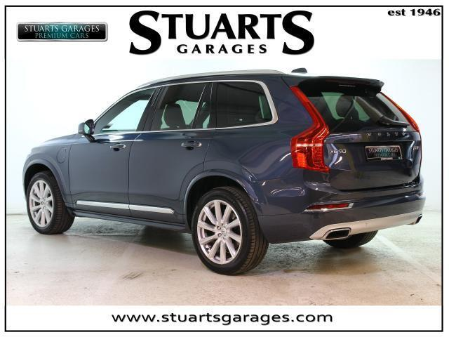 Image for 2019 Volvo XC90 NSCRIPTION XC90 T8 HYBRID 7 ST: DENIM BLUE & AMBER LTHR, 21 ALLOYS PANORAMIC ROOF MEMORY SEATS, HEATED WHEEL, BLIND SPOT MONITOR, HARMON KARDON
